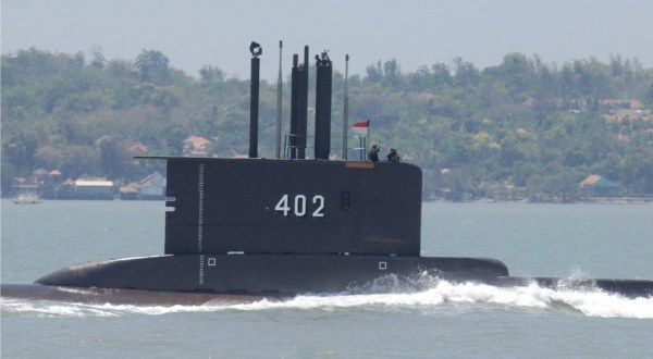 What happened to the Indonesian submarine?