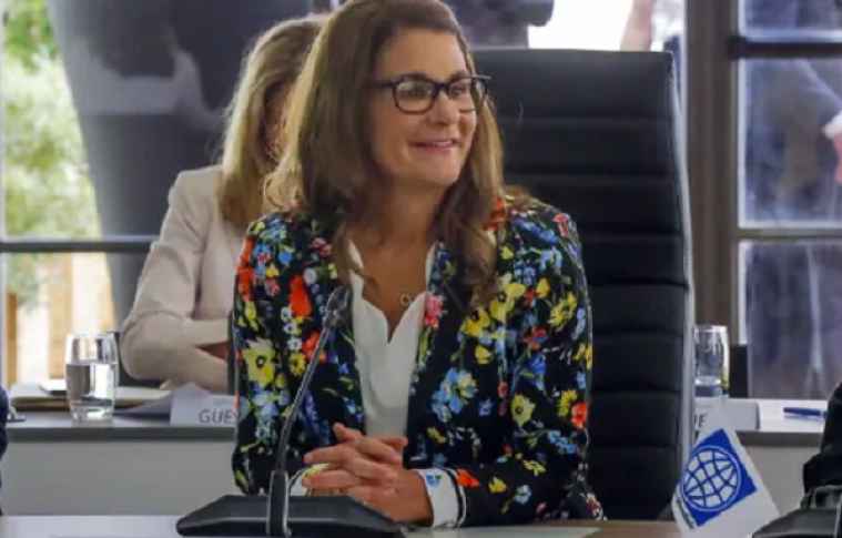 Melinda Gates could soon become the second richest woman in the world
