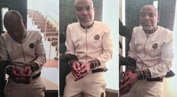 Nigeria arrests Biafra separatist leader and founder of IPOB, Nnamdi Kanu