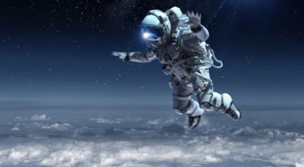 Why do astronauts float around in space? Is there air in space?