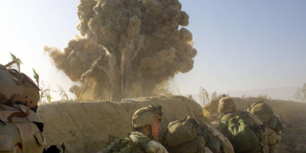 How many died during the U.S war in Afghanistan and how much did the U.S spend on the war